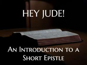 Introduction to Jude